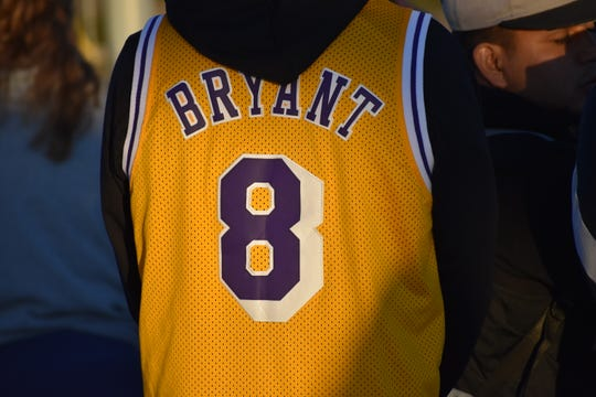 Dixie State's memorial to Kobe Bryant left a few in the crowd emotional when thinking about the late basketball legend.
