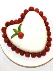 Coeur à la Crème with Grand Marnier Raspberry Sauce is an elegant dessert to serve for Valentine's Day.
