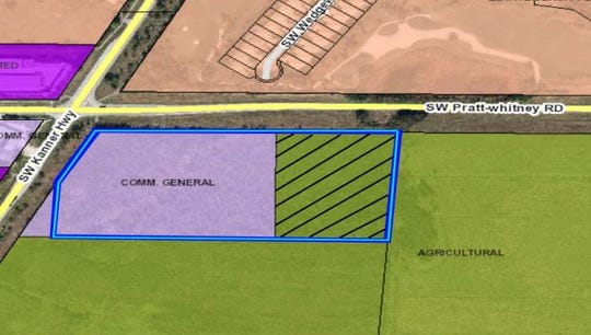 A Publix is proposed in western Martin County on land that is partially zoned for agricultural use.