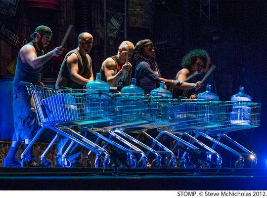 Stomp is returning to El Paso with a new show that might include shopping carts as instruments.