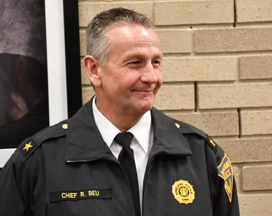 Police Chief Rudy Beu File photo
