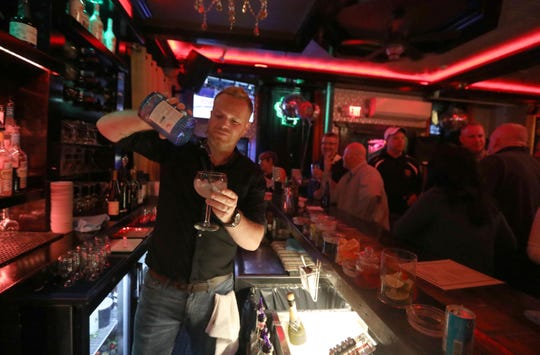 Aidan Loughran, owner of Saints &  Scholars, a bar and restaurant on McLean Ave. in Yonkers, feels that Yonkers is not a great city for single people. Loughran, photographed Jan. 23, 2020 thinks that the city needs more fun activities that would attract the dating crowd.
