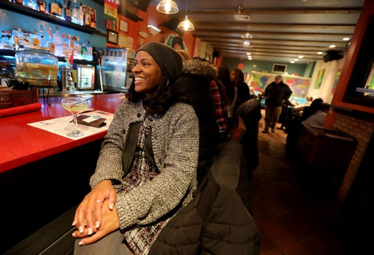 Yonkers resident Katrina Brown does not think that Yonkers is a bad city for single people. Brown, photographed Jan. 23, 2020 at Guapo Cocina Mexicana Restaurant on Warburton Ave. feels that with new establishments opening up, more single people will come to the city.