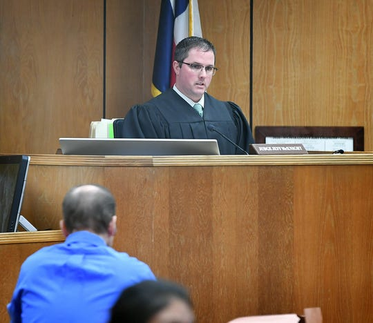 Thirtieth District Judge Jeff McKnight is presiding over the trial of Texas inmate Daniel Glenn Ostrander.