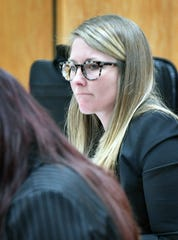 Attorney Anndi Risinger is prosecuting the case of former Allred Unit inmate Daniel Glenn Ostrander, who is accused of shanking a correctional officer. Risinger is with the State Prosecution Unit, which deals with cases arising in the Texas Department of Criminal Justice.