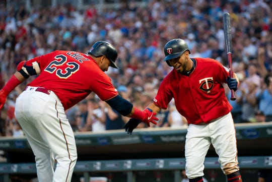 Minnesota's Nelson Cruz and Eddie Rosario combined for 73 home runs in 2019.