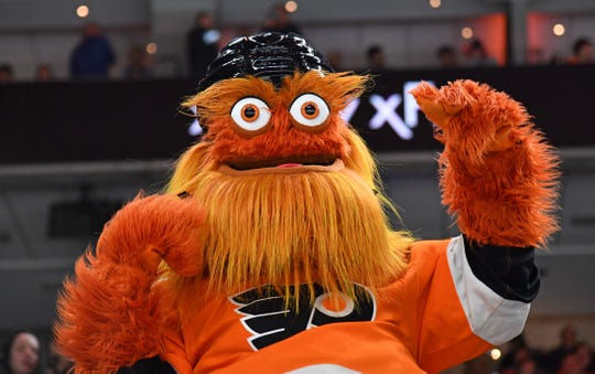Flyers mascot Gritty cleared in alleged assault of 13-year-old