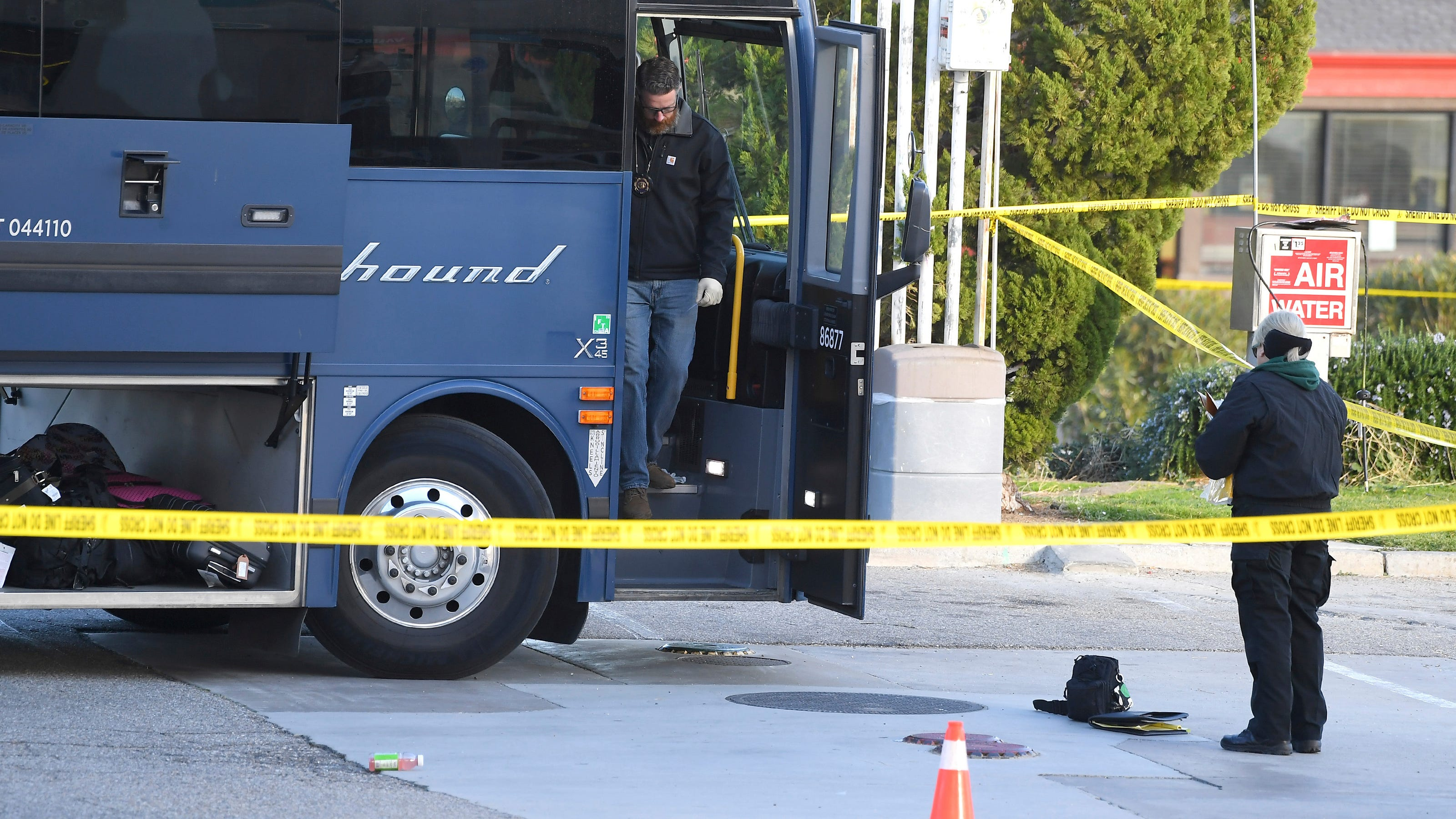 California Greyhound Bus Shooting Maryland Man Charged With Murder