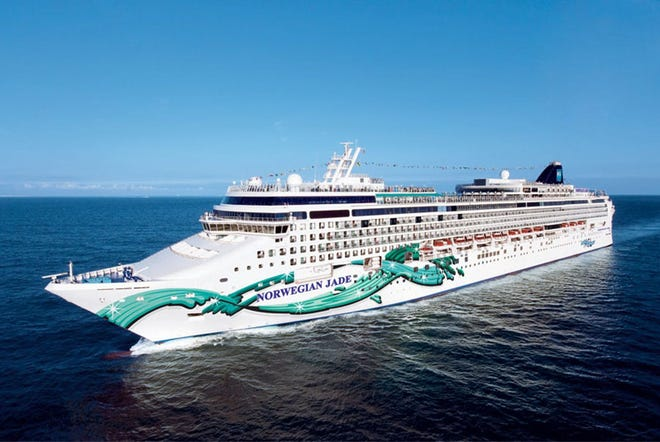 The Norwegian Jade is set to leave Singapore on Feb. 6 on an itinerary that includes stops in Cambodia, Thailand and  Vietnam before ending in Hong Kong.