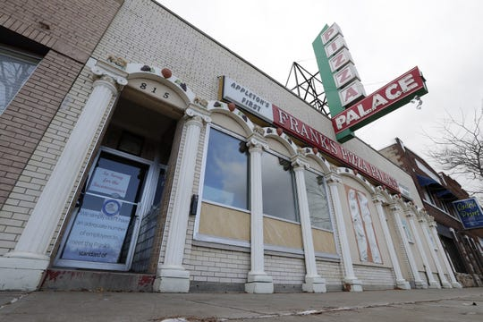 Frank's Pizza Palace has been dark since Halloween 2018 in downtown Appleton. Now, a new owner has plans to reopen it in the spring.
