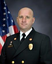 Cocoa Fire Chief Jonathan Lamm
