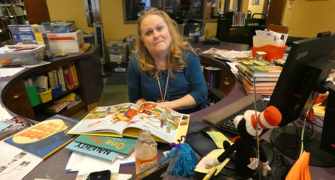 Barb Scott has been the children's librarian at the Bucyrus Public Library for 35 years.