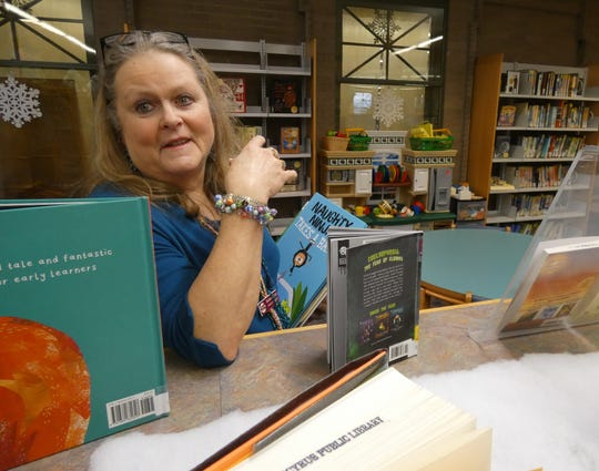 Barb Scottmoved to the Bucyrus area in 1982, joined the library staff as a fill-in in April 1985 and officially became the children's librarianin August of that year.