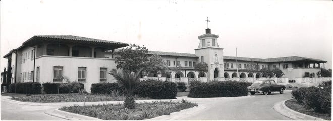 The Mount Carmel Home for the Aged on South Alameda Street and Everhart Road housed about 60 residents in May 1961.