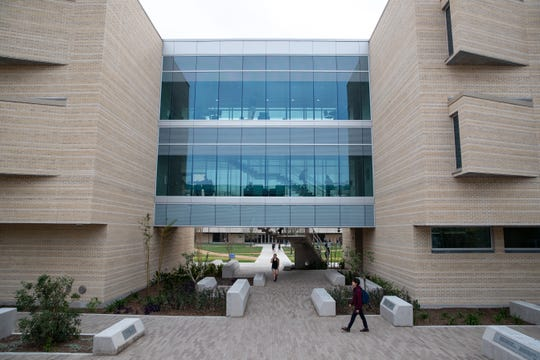 The new General Academic and Music Building at Del Mar College.