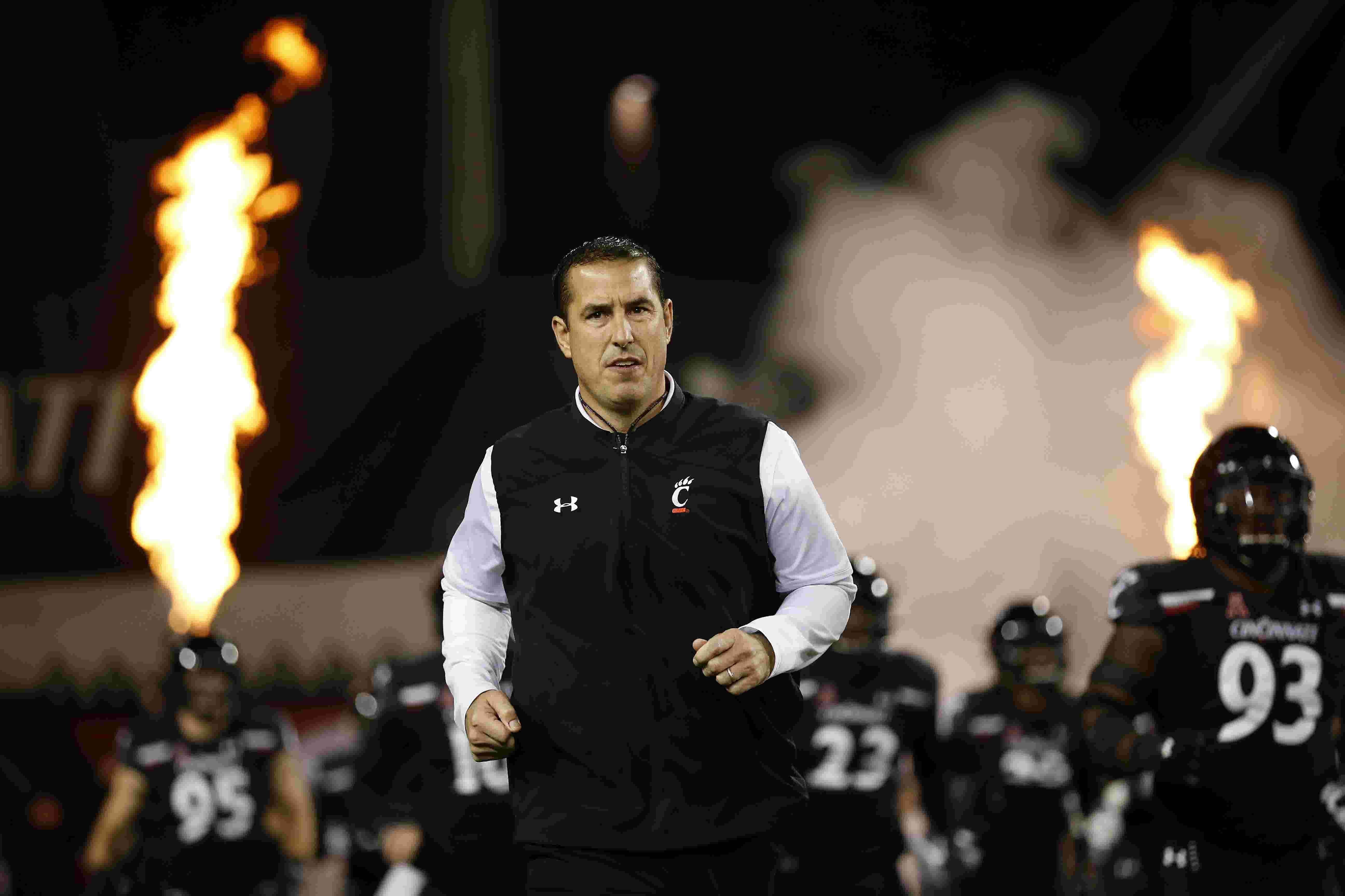 WATCH: UC coach Luke Fickell at Moeller Sports Stag on recent recruits keeping faith