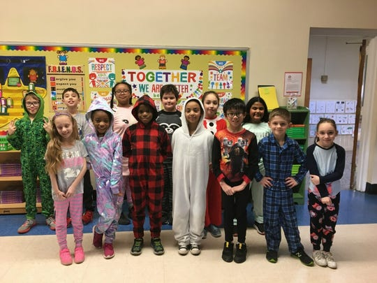 Holy Savior Academy in South Plainfield celebrated Catholic Schools Week from Sunday, Jan. 26 to Friday, Jan. 31.  Events included an Open House, laser light show, pajama day, door decorations, indoor and outdoor games, and treats for faculty and students.
