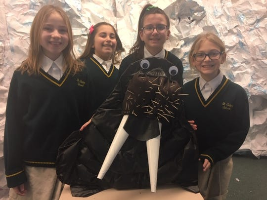 Saint Helena School Research Club decided to research the Arctic and Global warming.