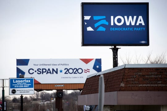 The Iowa Democratic Party headquarters is in Des Moines. Controversy has roiled the state party after caucus results were delayed and riddled with errors.