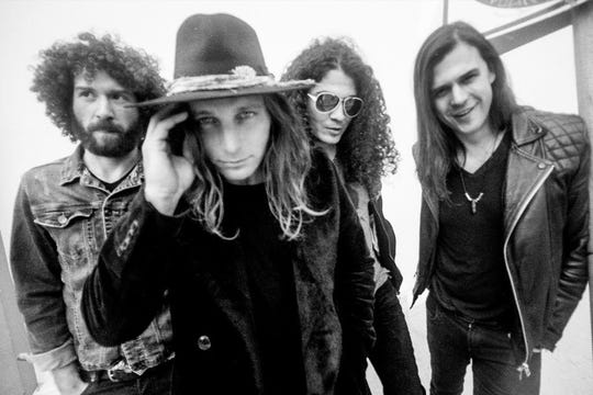 L.A. rock band Dirty Honey made some Billboard chart history in 2019.