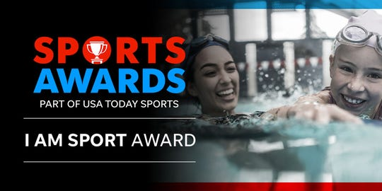 I AM SPORT Award as part of the Detroit Free Press Sports Awards