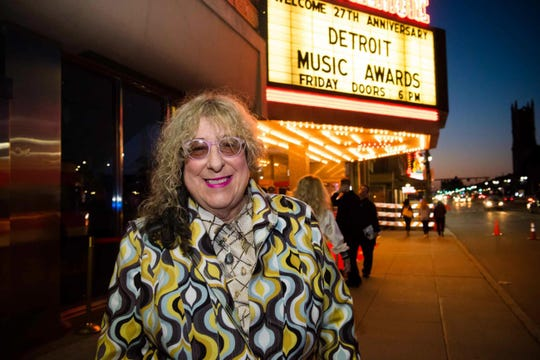Allee Willis at the Detroit Music Awards in 2018.