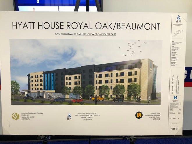 Hyatt House Royal Oak/Beaumont planned for 2021