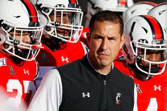 Cincinnati head coach Luke Fickell