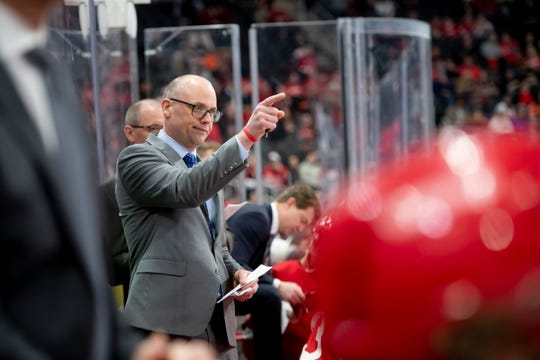 Jeff Blashill is in this fifth season as Red Wings coach.
