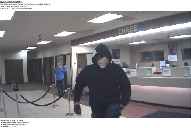 Beaver Dam police are investigating a bank robbery that happened Monday night at Chase Bank.