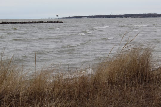 ODNR announced a $300,000 erosion mitigation project at East Harbor State Park last year, following severe coastal flooding, to put in rip rap material along the park's shore and beach area.
