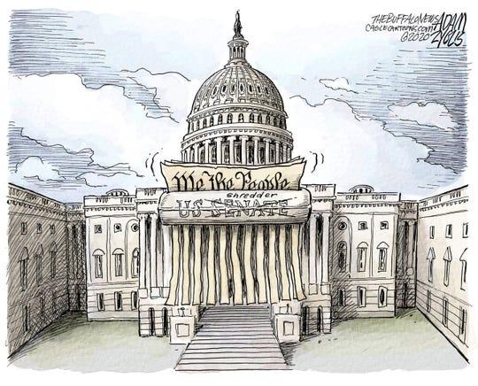 Senate as Constitution shredder.