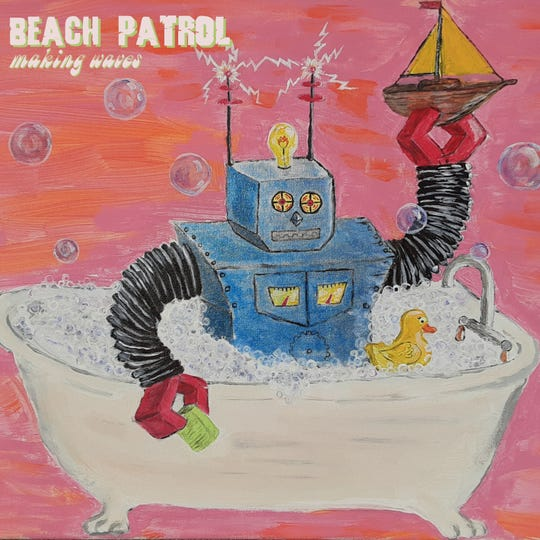 """Green Bay band Beach Patrol will celebrate the release of its new album, """"Making Waves,"""" with shows Friday and Saturday."""