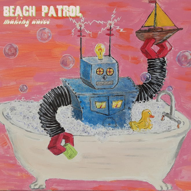 "Green Bay band Beach Patrol will celebrate the release of its new album, ""Making Waves,"" with shows Friday and Saturday."