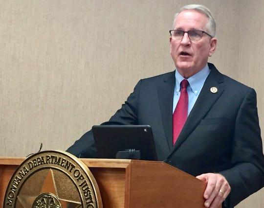 Attorney General Tim Fox.