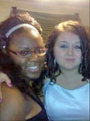 "Lashay R. Young-Beard (left) was found dead in Kokomo Monday.  ""She was an amazing soul who did not deserve this. She was 25 years old she still had her whole life ahead of her,""  Angel Free (right) told IndyStar Tuesday."