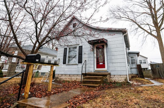 25-year-old Lashay R. Young-Beard's body was fiybd in the back yard of this home in the 700 block of South Courtland Avenue Kokomo, Ind., Tuesday, Feb. 4, 2020.