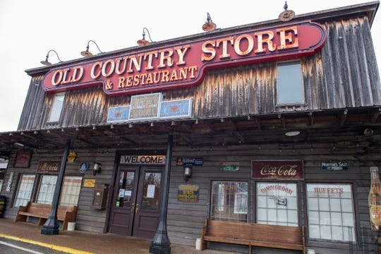 The Old Country Store has its own railroad museum located off the U.S. 45 Bypass.