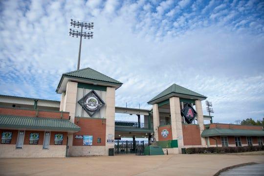 The Ballpark at Jackson in Jackson, Tenn., Monday, Feb. 3, 2020.