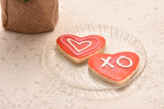 """Each guest receives a delicious sugar cookie following their meal at The Gathering Place as a way to say """"thank you"""" from the staff."""