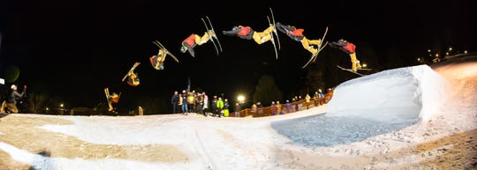 The annual Big Air competition takes place at 6 p.m. Saturday at Snow Trails.