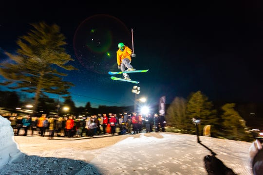 Snow Trails will host the Big Air competition on Saturday night.