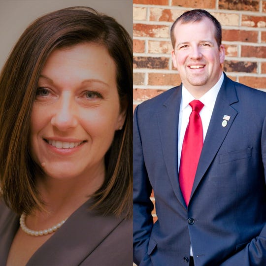Marilyn John and Nathan Martin will face off in the Republican primary on March 17.