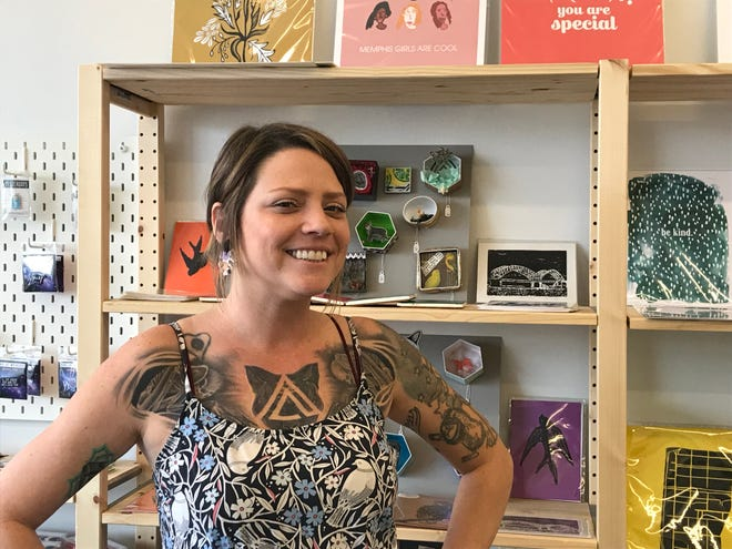 Carla Worth and her husband Gil Worth opened Ixora, a makers' market and podcast studio, to give Memphis' creatives a place to sell their goods and grow their businesses.