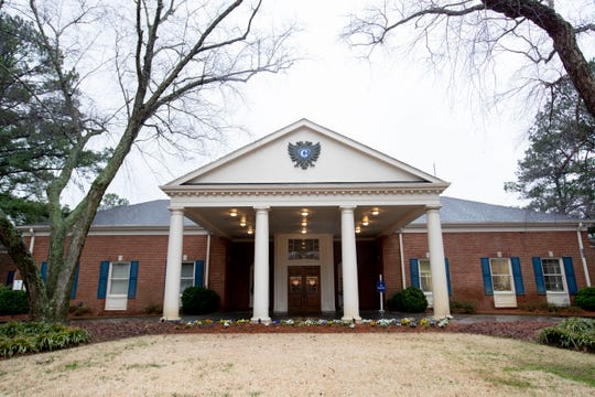 The clubhouse Tuesday, Feb. 4, 2020, at Colonial Country Club in Cordova.