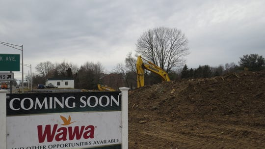 Morris County major construction in progress (February 2020): Wawa, Route 10 West, Randolph.