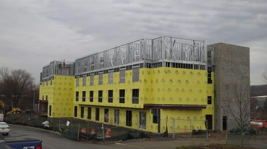 Morris County major construction in progress (February 2020): Marriott Hotel, Green Pond Road, Rockaway Township