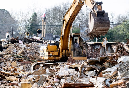 Demolition and renovation work is being done to turn a building on East Main, in Prattville, Ala., into a new home for American Legion Post 122, on Tuesday February 4, 2020.