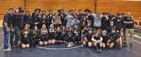 The 2020 Fairview High Jackets Wrestling Team won the Region 8 Duals, securing the Division I Class A-AA Championship on Jan. 24, 2020.