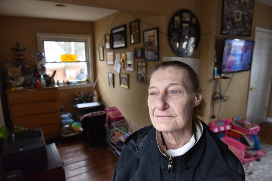 Mary Anne Pérez, a widow of a Vietnam War veteran, is at risk of losing her home, on Fayette Avenue in Wayne, to foreclosure.